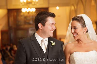O clássico moderno em São Paulo: Real Wedding Vivi e Bruno