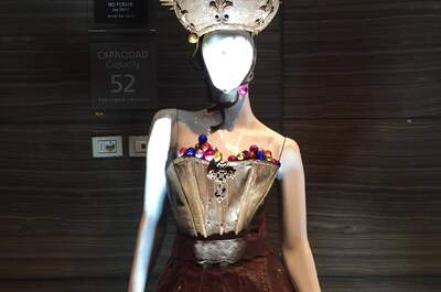Diseños de moda en chocolate. ¡Original exposición en Lima hasta el próximo 30 de septiembre!
