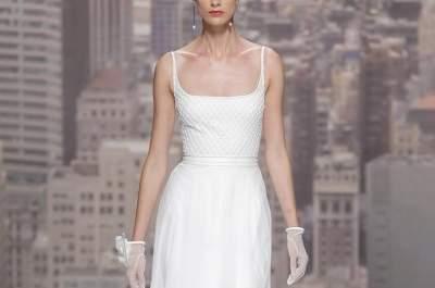 Brautkleider der neuen Kollektion von Rosa Clará: Fühlen Sie sich wie ein Hollywood-Star!