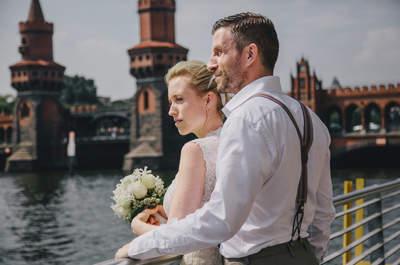 Urbanes Flair & Romantik pur bei der Hochzeit von Milla & Marco in Berlin!