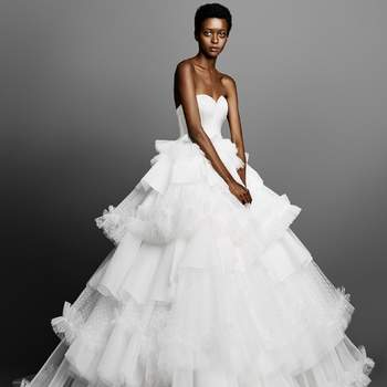 TULLE PATCHWORK GOWN, Viktor and Rolf