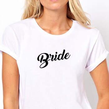 Camiseta Bride- Compra en The Wedding Shop