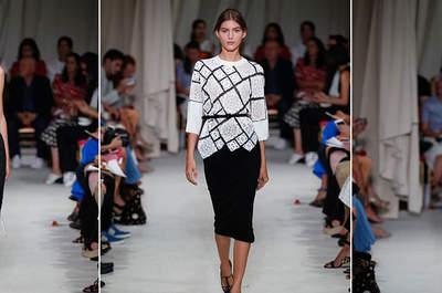 Oscar de la Renta Spring/Sumer Ready to Wear Collection 2016 New York Fashion Week Catwalk