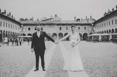 Il matrimonio urban-chic di Annalisa e Federico a Vigevano