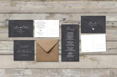 Originelle Tischkarten und mehr für die Hochzeit 2013