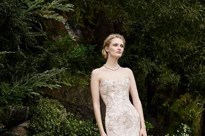 Casablanca Bridal Fall collection 2016: Beautifully floral Wedding dresses!