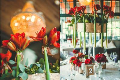 Настольные композиции из живых цветов для свадьбы 2016: советуют профессионалы