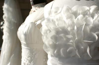 Aurélie Cherell 2014 : des robes de mariée épurées, raffinées et poétiques