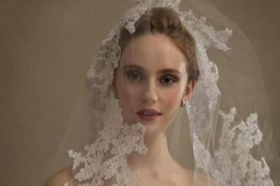 Tips para saber cómo elegir el velo de novia