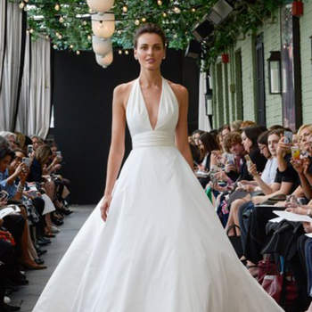 Amsale. Credits: New York Bridal Week.