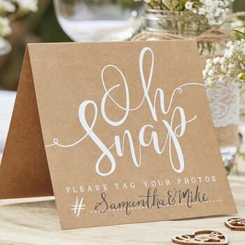 Tarjetas bodas para Instagram. Compra en The Wedding Shop