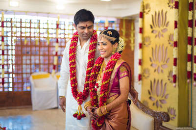 Stunning Real Wedding of Divya and Vignesh: The one with the South Indian touch