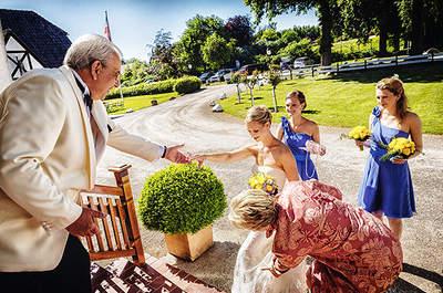 Unsere Eltern mischen sich zu sehr in die Hochzeitsvorbereitungen ein – Was tun?