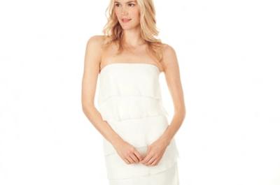 Sencillos vestidos de novia Nicole Miller 2013 para boda en primavera