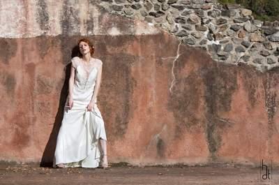 Shooting d'inspiration lyonnais : Un mariage romantique au théâtre antique de Fourvière!