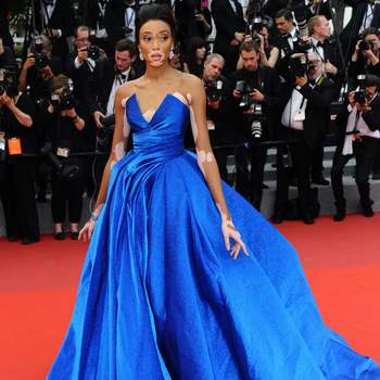 Winnie Harlow de Zuhair Murad. Credits: Cordon Press