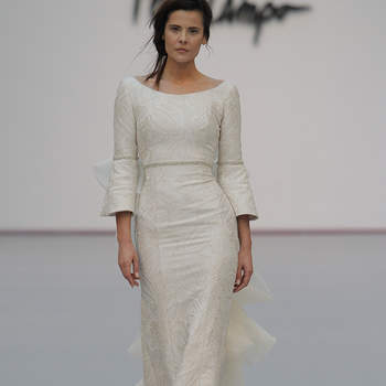 Fely Campo. Credits: Madrid Bridal Week
