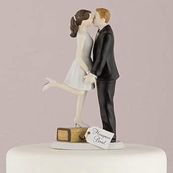 Cake Topper Le Voyage D'amour Des Conjoints - The Wedding Shop !