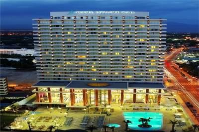 Una boda con vistas al mar en Hotel Levante Club