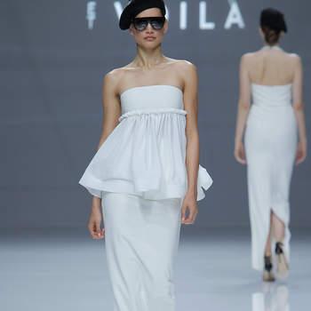 Sophie et Voila. Credits: Barcelona Bridal Fashion Week