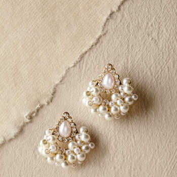 Babette Earrings. Credits: Bhldn