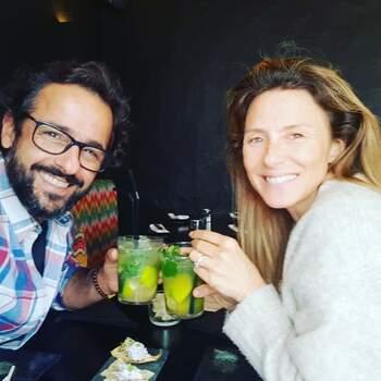 """Gonçalo Diniz partilhou uma foto com a sua amada. Na legenda apenas """"Ela e eu."""" Em @goncalodinizz"""