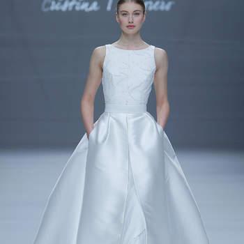 ristina Tamborero. Credits_ Barcelona Bridal Fashion Week