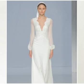 Vestidos de novia para mujeres bajitas 2018: ¡Diseños que te dejarán encantada!