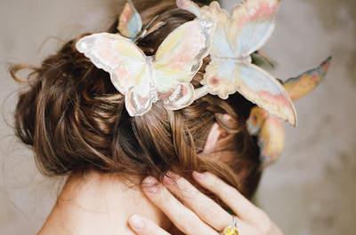Efeito borboleta: delicadeza e romantismo no seu grande dia!