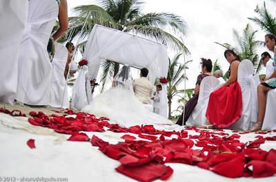 Ponle un toque rojo a tu boda