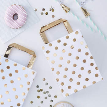 Bolsas Lunares Oro 5 unidades- Compra en The Wedding Shop