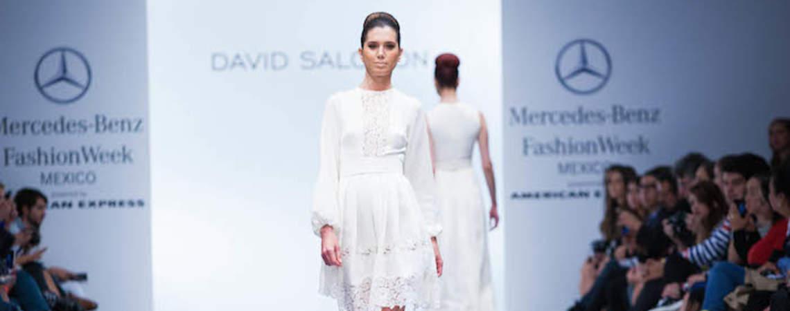 Gala perfecta con tintes hippie: Vestidos de novia 2015 de David Salomón