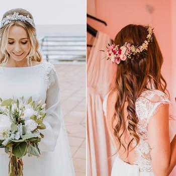 40 Penteados De Noiva Com Cabelo Solto Aposte No Natural E