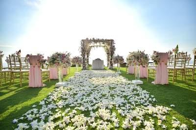 En esto debes fijarte para encontrar el lugar ideal de tu boda