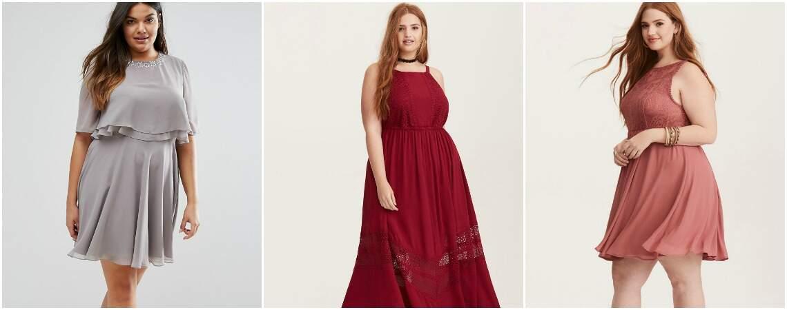 Vestidos de fiesta plus size, ¡todas las tendencias en diseños increíbles!