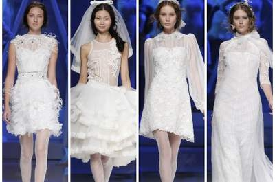 Due giacche alternative per la sposa 2013