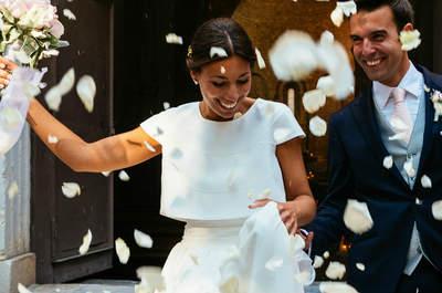 Toda la ilusión puesta en un gran día: la boda de Carola y Rafa