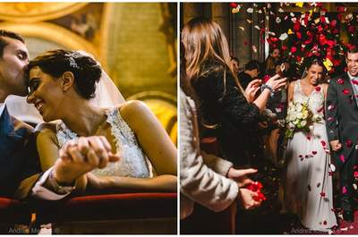 ¡Un matrimonio para disfrutar a cada momento! Carmen Gloria y Andrés nos cuentan su historia
