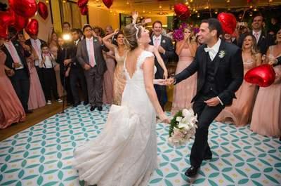 Decoração da pista de dança: ideias super ORIGINAIS para o seu casamento!