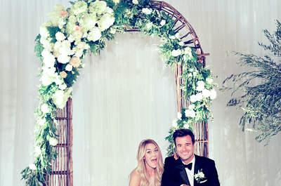 Les mariages VIP de 2014: rétrospective sur ces beaux événements qui ont marqué 2014