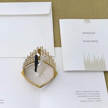 Invitaciones En Oro Pop-Up- Compra en The Wedding Shop