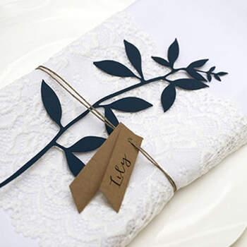 Marcasitio rama azul 6 unidades- Compra en The Wedding Shop