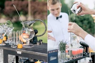 Самые оригинальные идеи напитков на свадьбу!