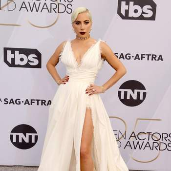 Lady Gaga de Dior Haute Couture