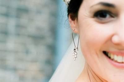 Elige los aros de novia según tu peinado. ¡Ten en cuenta estos consejos de expertos!