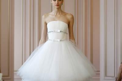 Vestidos de novia 2016, las mejores tendencias para lucir espléndida