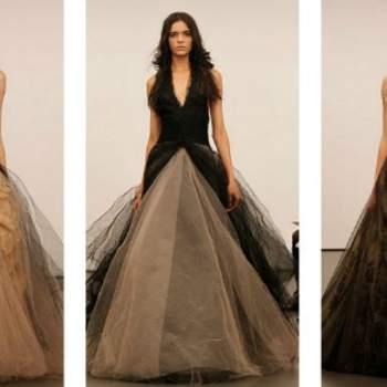 Modelli eleganti dal mood gothic per la sposa che voglia vivere una romantica fiaba moderna