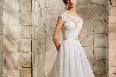 Vestidos de novia para embarazadas 2017. ¡Luce tu pancita con comodidad y elegancia!