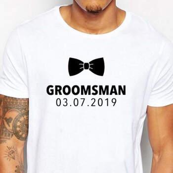 Camiseta Groomsman- Compra en The Wedding Shop