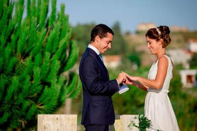 Paula & Fábio:  A representação de um amor consciente - Eco-Chic Wedding